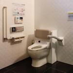 尿流量測定器付きトイレ